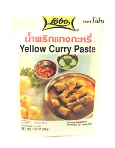 Yellow Curry Paste by Lobo | Buy Online at the Asian Cookshop